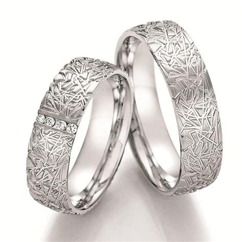 Eheringe Aus Silber by Eheringe Shop Struktur Eheringe Aus Silber Mit Brillanten