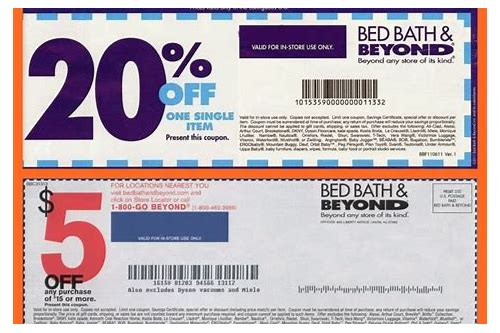 bed bath and beyond coupon february 2018