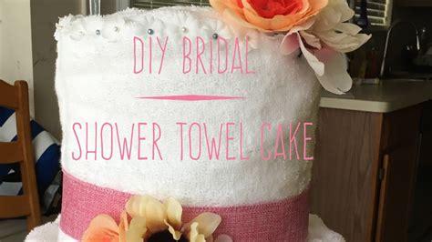towel cake favors for bridal shower diy bridal shower towel cake 2017