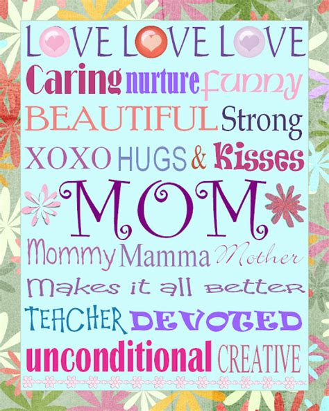 mothers day subway art printables free gael s crafty treasures mother s day subway art