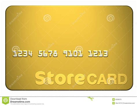 card photos gold store card stock illustration image of design