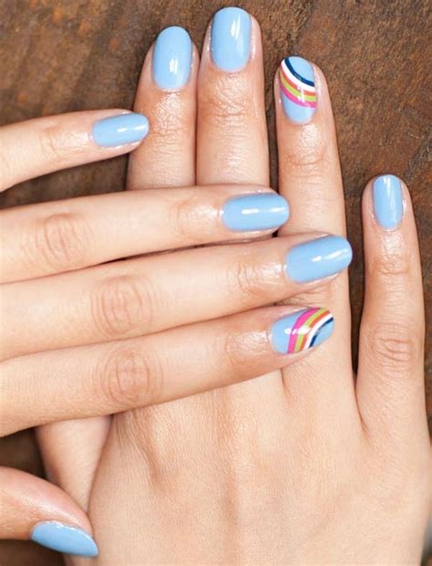 best colors for short fingernails 101 classy nail art designs for short nails fashionisers