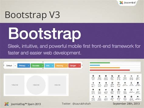 bootstrap template joomla joomla template with bootstrap 3 joomla day spain 2013