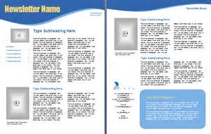templates for word 2003 newsletter templates for word 2003