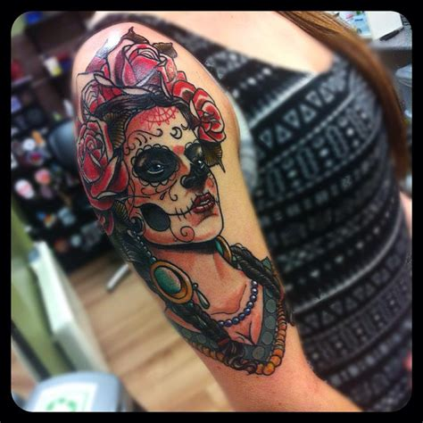 day of dead tattoo 90 best day of the dead tattoos designs meanings 2018