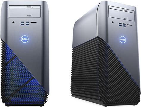 dell desk top dell debuts amd ryzen powered inspiron gaming desktop and
