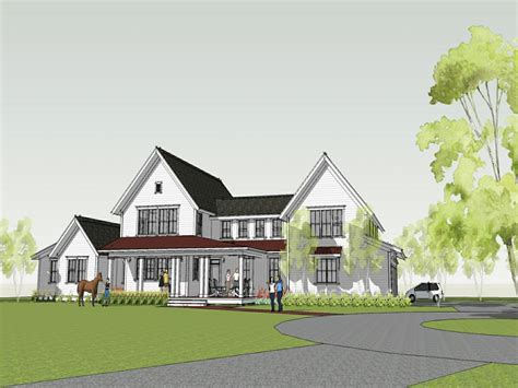 modern farm house plans modern prefab homes home design modern farmhouse plan