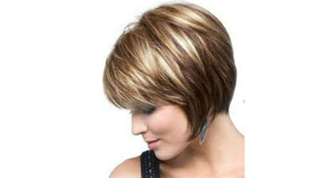 chin length layered bob with side bangs short and spunky chin length hair top 10 picks