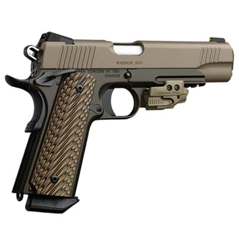 kimber 1911 warrior soc .45 acp pistol 3000286 | flat rate