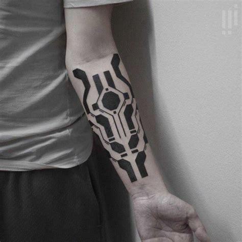 tattoo geometric blackwork geometric blackwork tattoo on arm best tattoo ideas gallery