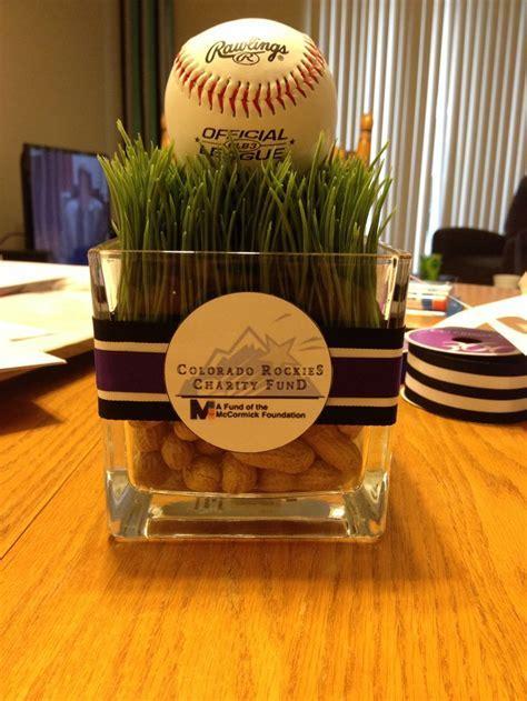 25  great ideas about Baseball Centerpiece on Pinterest
