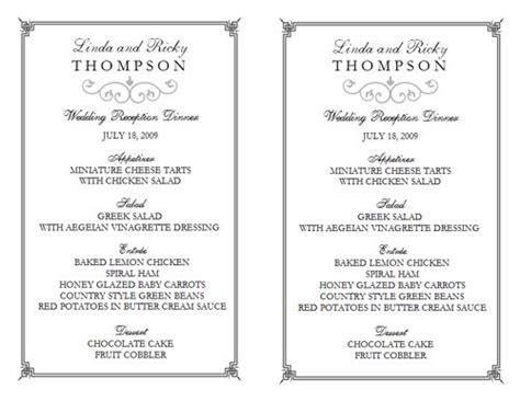 free restaurant menu templates for microsoft word free restaurant menu template template business