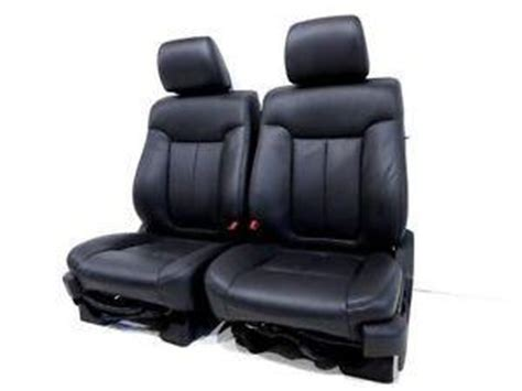 oem ford truck replacement seats replacement ford f 150 f150 f 150 oem used black leather