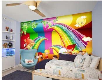 rainbow wallpaper for room customized room wall decor beautiful colorful rainbow wallpaper buy room wallpaper