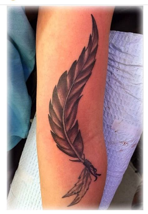 tattoo feather lower arm 157 best tattoos by jenny forth images on pinterest