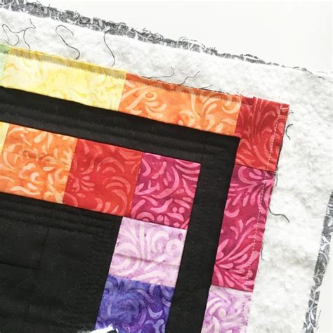 Scrappy Quilt Binding by How To Make Scrappy Quilt Binding The Crafty Mummy