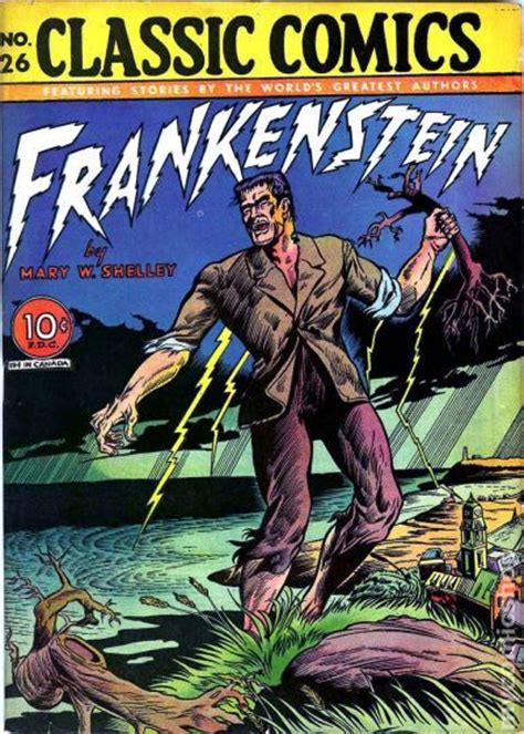 classics reimagined frankenstein books classics illustrated 026 frankenstein comic books