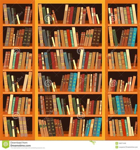 bookcase of books royalty free stock image image