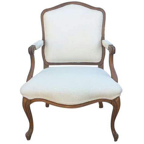 armchair in french french armchair in louis xv style chairish