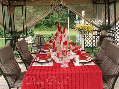 canada day table decorations centerpieces  summer