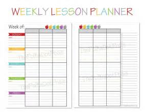 free printable lesson plans homeschool the polka dot posie new teacher homeschool planners