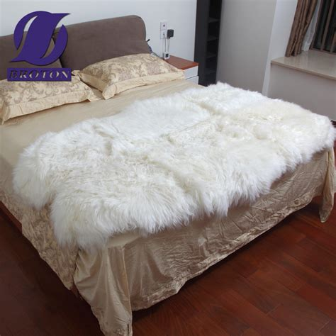 sheepskin bed pad borden carpet pure wool blanket sheepskin blanket mattress