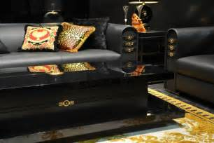 Home Interior Design Living Room Photos versace home collection luxury topics luxury portal