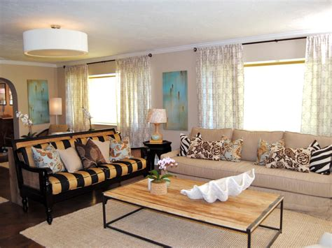hgtv color splash living room before and after makeovers from color splash miami