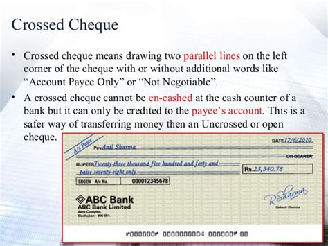Drawer Bank Meaning by Cheque