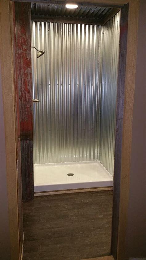 1000 ideas about galvanized shower on shower