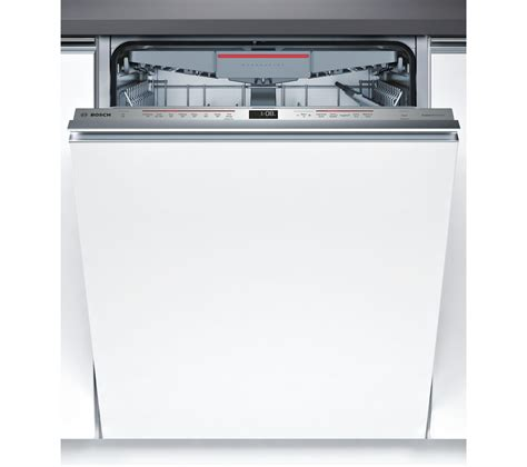 buy bosch serie  smvmdg full size integrated dishwasher  delivery currys