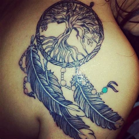 dream catcher tattoo family dream catcher tree tattoo ink i admire pinterest