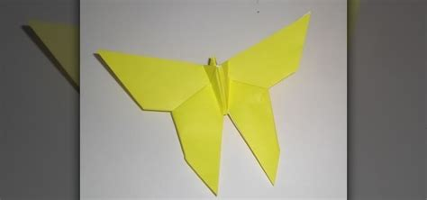 origami for beginers how to fold a delicate origami butterfly for beginners