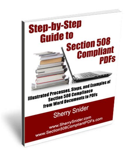 section 508 pdf step by step guide to section 508 compliant pdfs