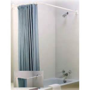 l shaped shower rod ebay