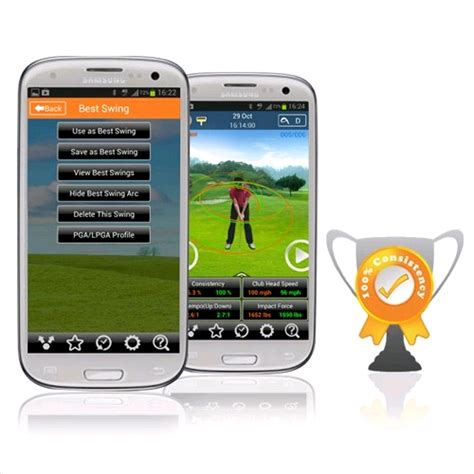 3bays gsa pro golf swing analyser 3bays gsa pro golf swing analyzer for android