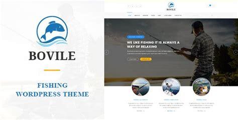 bovile v1 5 fishing theme wpmania free premium themes