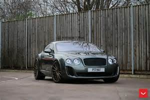 Bentley Gt Supersport Bentley Continental Gt Supersports Struts Its New Shoes