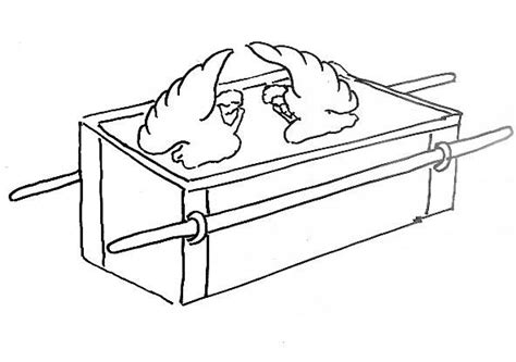 David And The Ark Of The Covenant Coloring Page ark of the covenant coloring page david and the ark of the