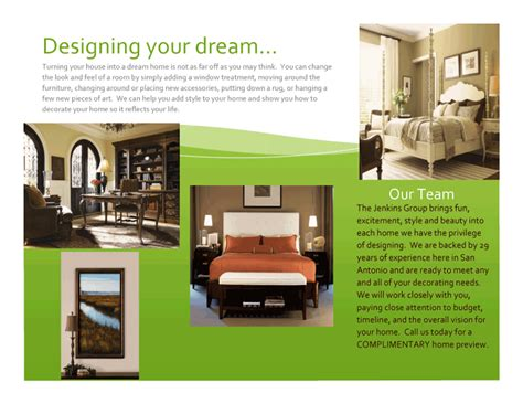 home interior design pdf index of images brochure
