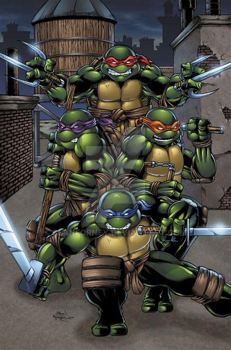 mutant turtles colors mutant turtles colors by seanforney on