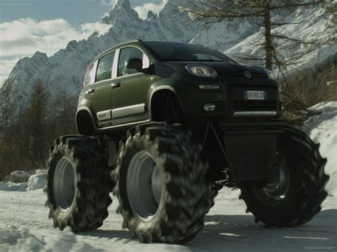 monster trucks videos 2013 fiat panda monster truck 2013 exotic car picture 01 of 8
