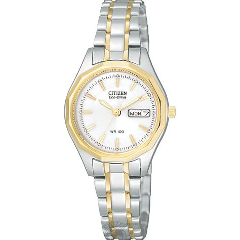 citizen calendar day date eco drive in two