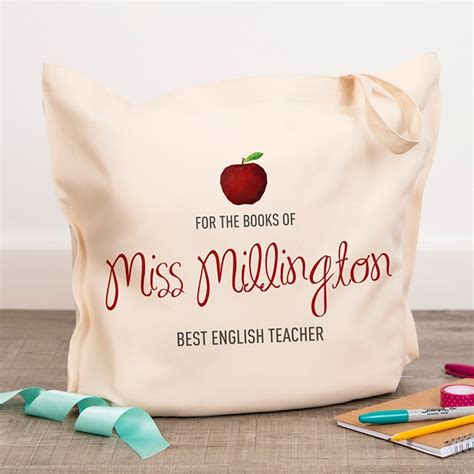 Card Factory Gifts For Teachers - personalised teacher tote bag cardfactory