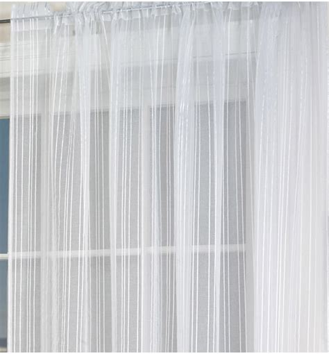 White Voile Curtains White Voile Panel Voile Panels Curtains Linen4less Co Uk