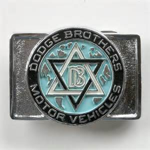 vintage db dodge brothers motor vehicles silver color belt
