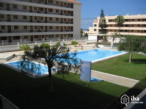 appartments in tenerife flat apartments for rent in arona tenerife iha 74600