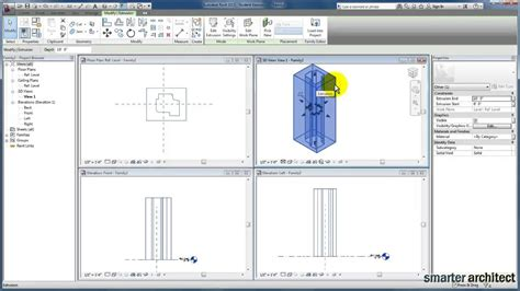 tutorial revit estructural revit tutorials revit forms extrusion tool youtube
