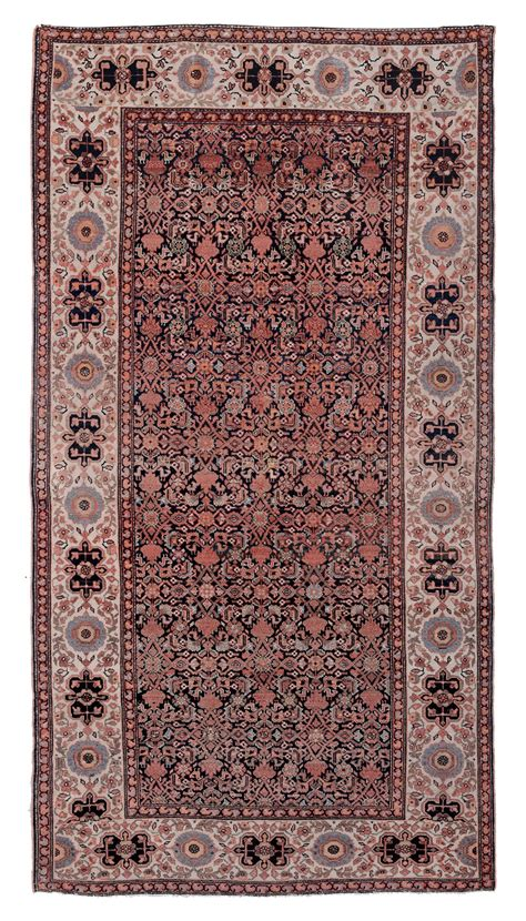 asta tappeti antichi tappeto persiano malayer xix secolo tappeti