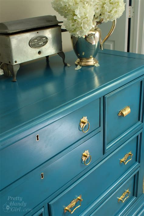 How To Paint A Pine Dresser by Aqua Dresser Makeover What S Knot To Pretty